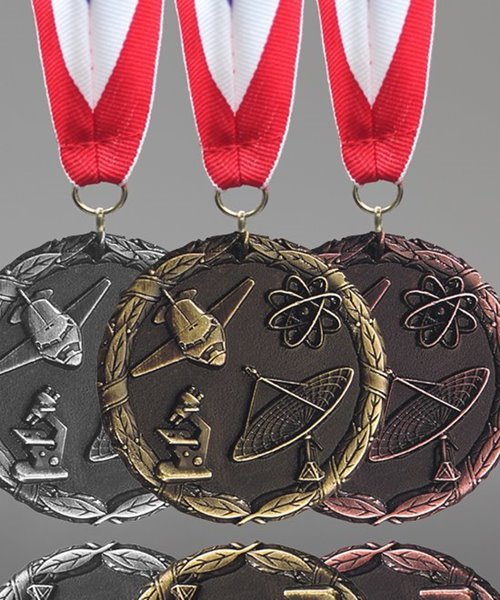 Picture of Science Fair Award Medals