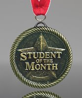 Picture of Student of the Month Medal