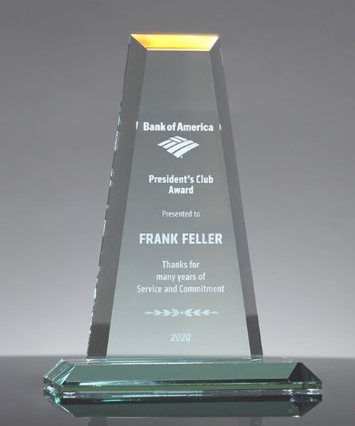 Picture of Jade Glass Tower Award