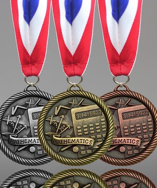Picture of Mathematics Award Medals