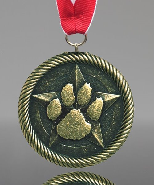 Picture of Value Paw Print Medals