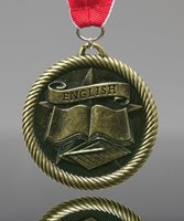 Picture of English Award Medals