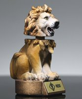 Picture of Lion Bobblehead Mascot Trophy