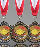 Picture of Honor Roll Epoxy Domed Medal