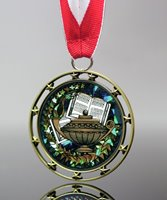Picture of Lamp of Knowledge Star Medals