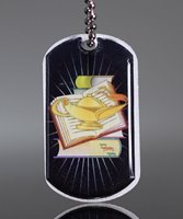 Picture of Lamp of Knowledge Dog Tag