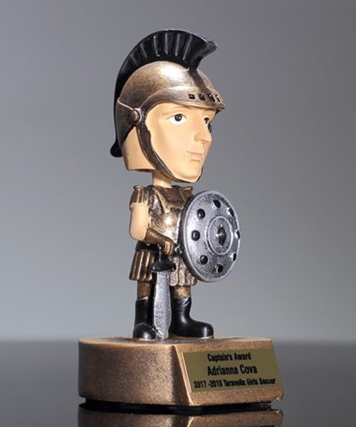 Picture of Trojan Bobblehead Mascot Trophy