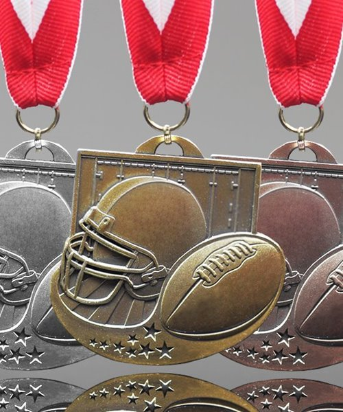 Picture of Football Star Award Medals