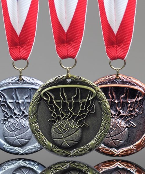 Picture of Basketball Swish Medals
