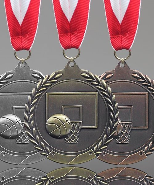Picture of Traditional Basketball Medal