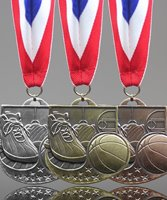 Picture of Basketball Star Medals