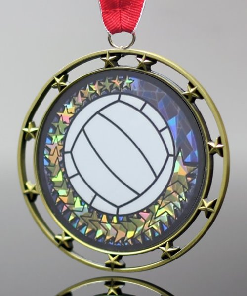 Picture of Volleyball Star Medal