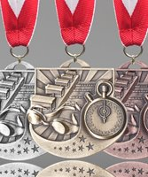 Picture of Swimming Star Blast Medals