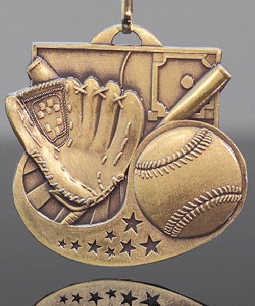 Picture of Baseball Star-Blast Medal