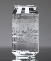 Picture of Crystal Beverage Can Award