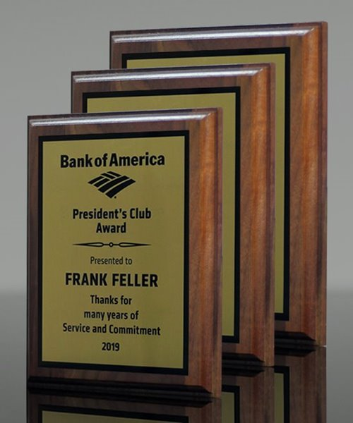 Picture of Genuine Walnut Award Plaques