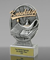 Picture of Knowledge Lamp Resin Trophy