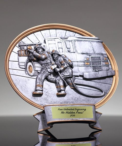 Picture of Firefighter Legend Oval
