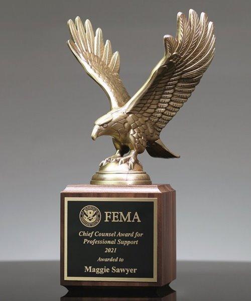 Picture of Premium Bronze Eagle Trophy