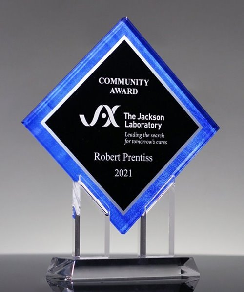 Picture of Achievement Diamond Acrylic Award