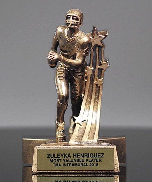 Picture of Superstar Football Sculpture