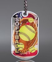 Picture of Softball Dog Tag