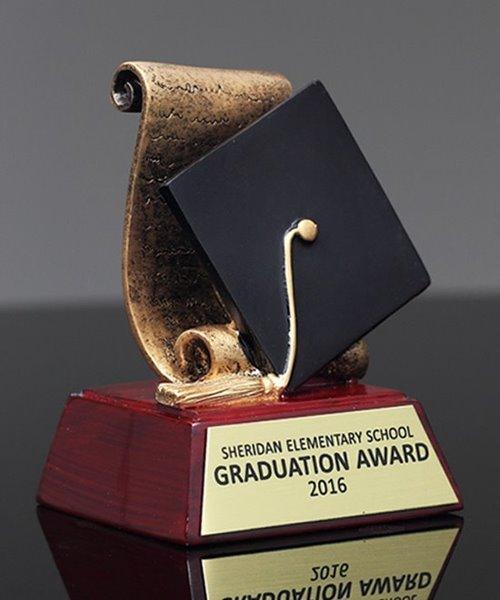 Picture of Graduation Cap & Diploma Award