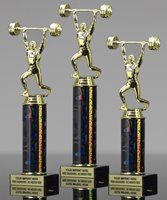 Picture of Weightlifter Clean Jerk Trophy
