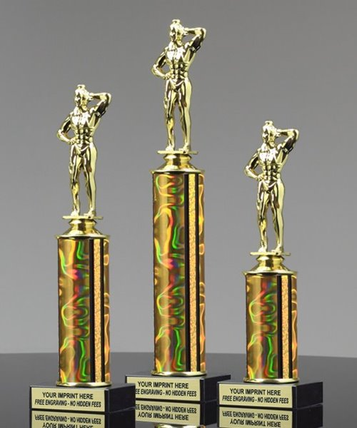 Picture of Body Building Female Trophy