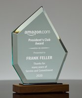 Picture of Emerald Diamond Acrylic Award