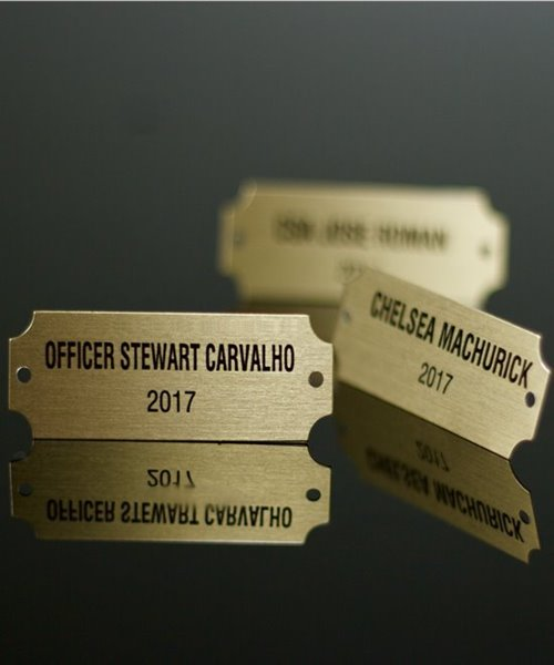 Picture of Extra SM-1 Name Plates