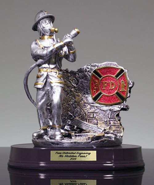 Picture of Fireman Recognition Award