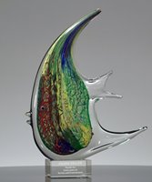 Picture of Tropical Fish Art Glass Award