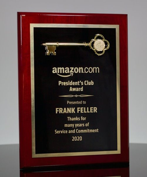 Picture of Key Employee Award Plaque