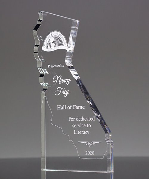 Picture of California State Shape Paperweight