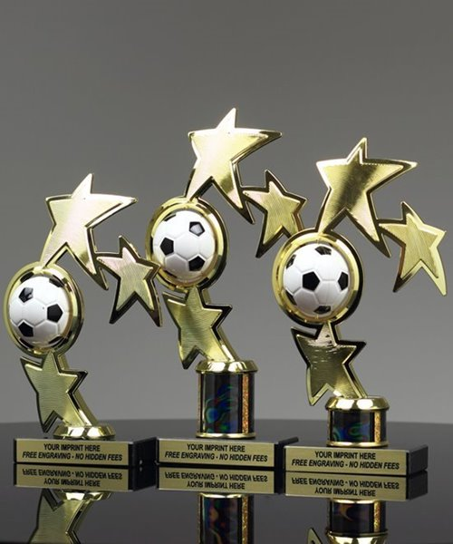 Picture of Superstar Soccer Spinner Trophy