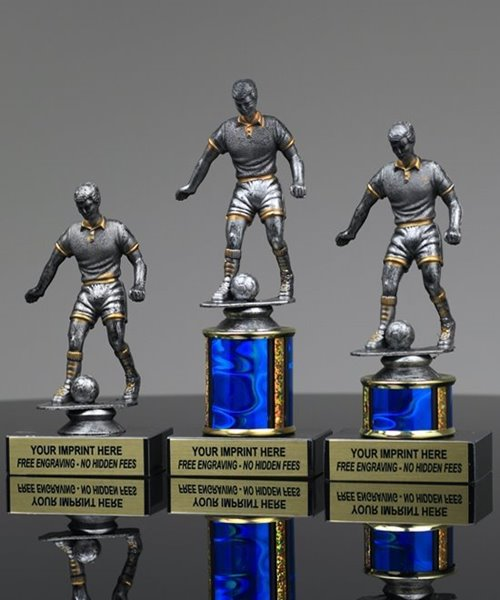 Picture of Platinum Soccer Trophy