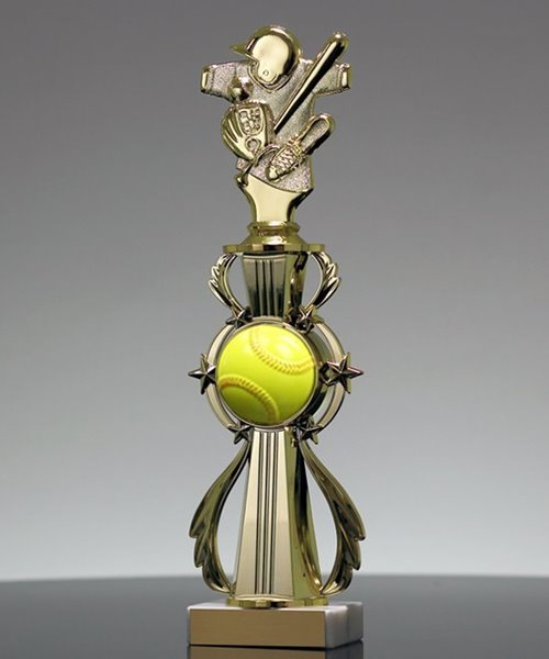 Picture of Softball Star Banner Trophy