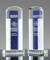 Picture of Ambient Blue Crystal Award