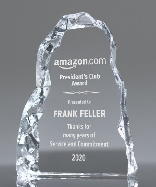 Picture of Carling Crystal Iceberg Award