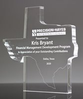 Picture of Texas Upright Acrylic Award