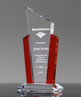 Picture of Acclaim Ruby Acrylic Award