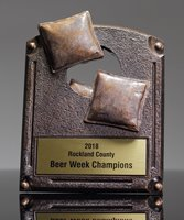 Picture of Corn Hole Legend of Fame Trophy