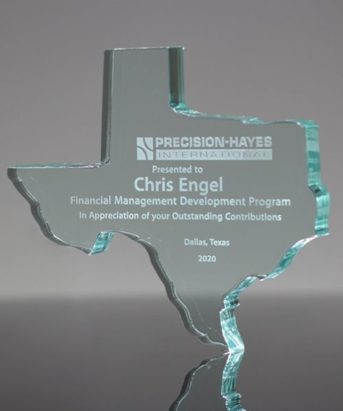 Picture of Texas Paperweight Acrylic