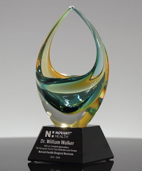 Picture of Ethereal Art Glass Basket