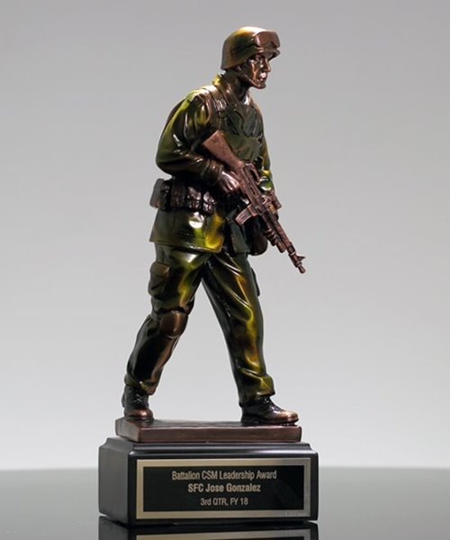 Picture of US Military Sculpture Award