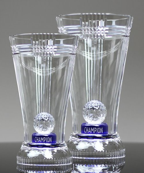Picture of Crystal Sapphire Golf Cup