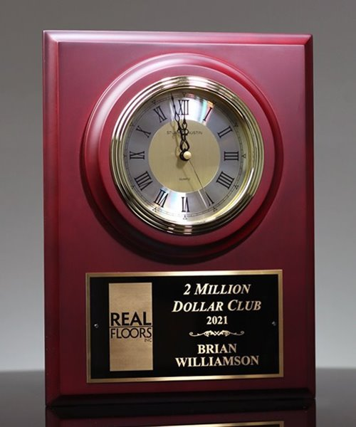 Picture of Ambassador Cherry Clock