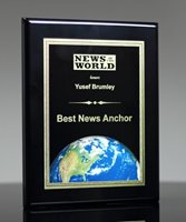 Picture of World Globe Award Plaque