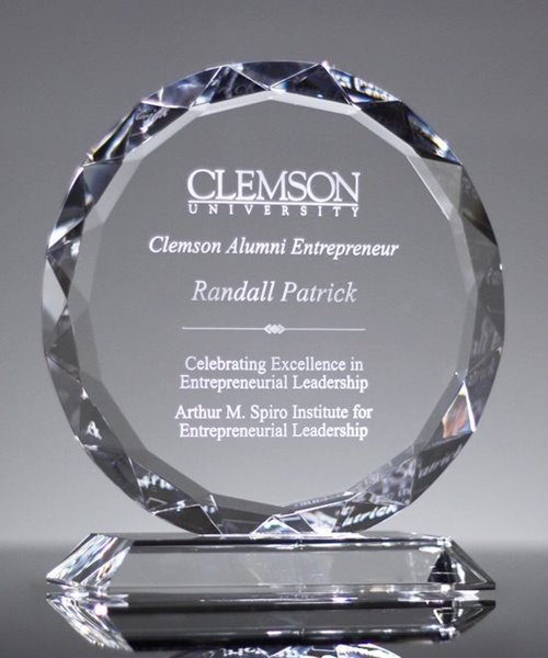 Picture of Crystal Sunflower Award